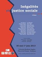 Colloque Inégalités et justice sociale