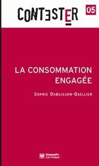 Compte rendu de la conférence de Sophie Dubuisson-Quellier sur la consommation engagée