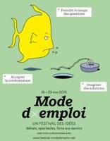 Mode d'emploi : un festival des idées. Edition 2015