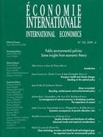 Politiques environnementales : les leçons de la théorie économique
