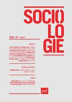 """""""Sociologie"""" : une nouvelle revue académique de sociologie"""
