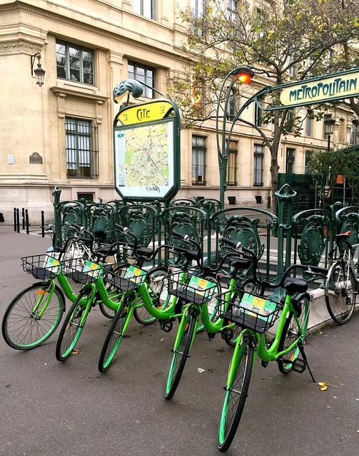 photo vélos Gobee.bike paris