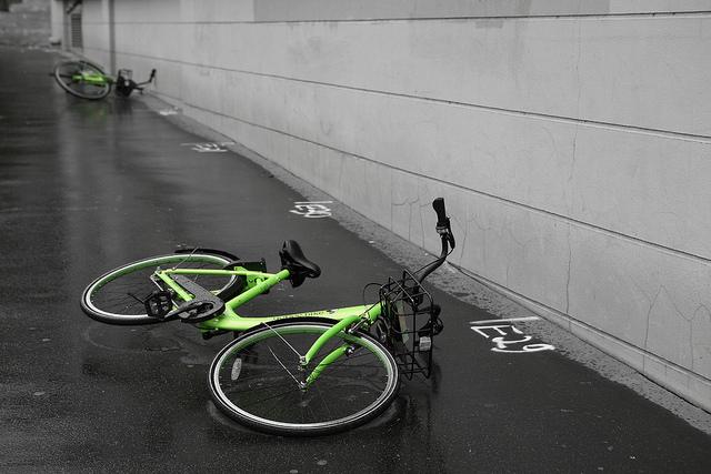 photo vélo gobee bike Paris