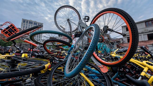 photo vélo Shanghai