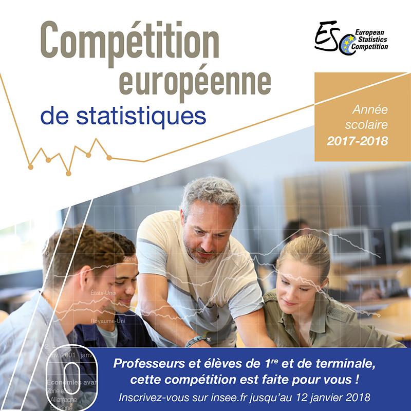 bannière compétition européenne de statistiques 2018