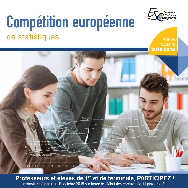 bannière compétition européenne de statistiques 2019
