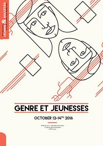 """Affiche du colloque """"genre et jeunesse"""""""