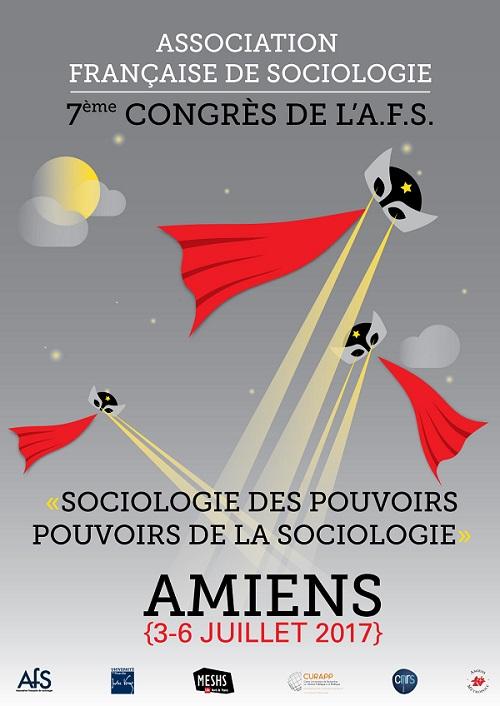 affiche du congrès de l'AFS 2017