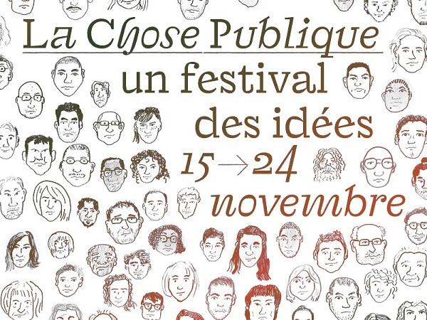 """affiche festival """"La chose publique"""" 2018"""