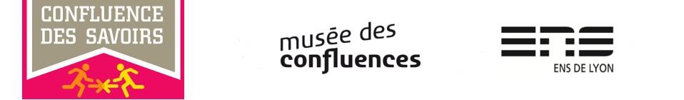 logos Confluence des savoirs-Musée des Confluences-ENS de Lyon