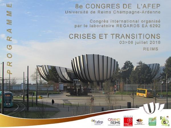 Affiche du congrès de l'AFEP 2018