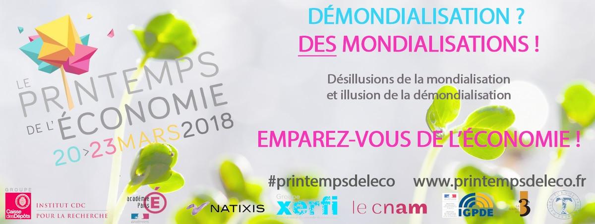 Bannière du Printemps de l'économie édition 2018