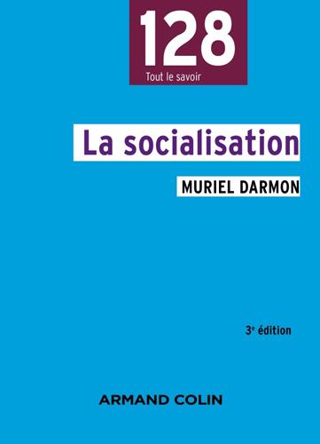 Couverture du livre La socialisation de M. Darmon
