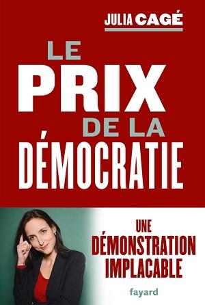 """couverture du livre """"Le prix de la démocratie"""""""
