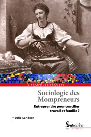 """couverture du livre """"Sociologie des Mompreneurs"""""""