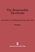 couverture du livre The Responsible Electorate