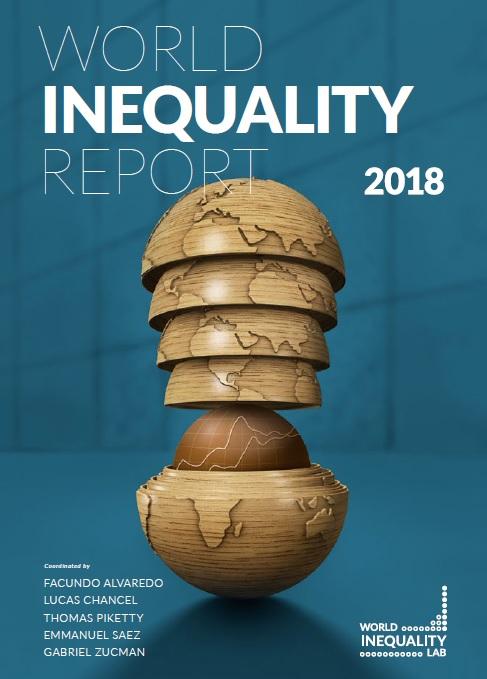couverture du Rapport sur les inégalités mondiales 2018