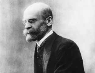 photo d'Emile Durkheim