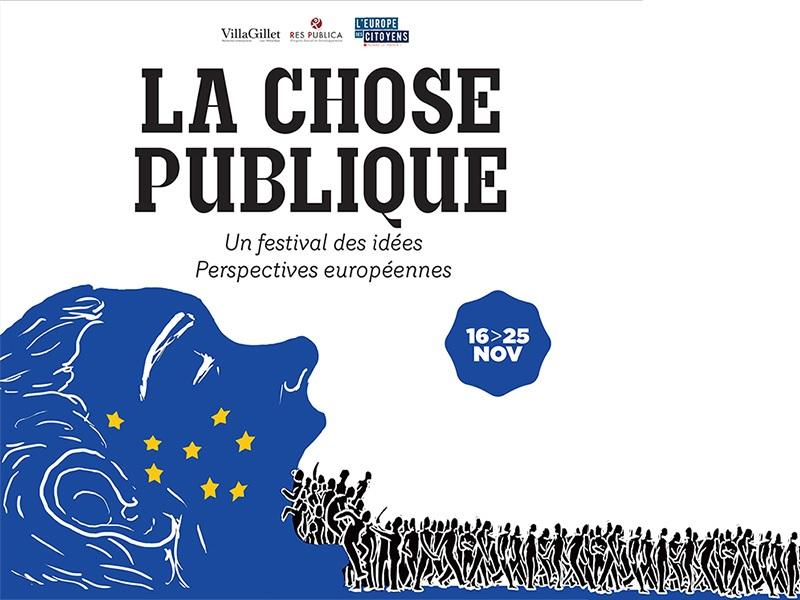 affiche du festival La Chose Publique 2017