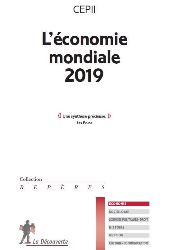 """couverture du livre """"L'économie mondiale 2019"""""""