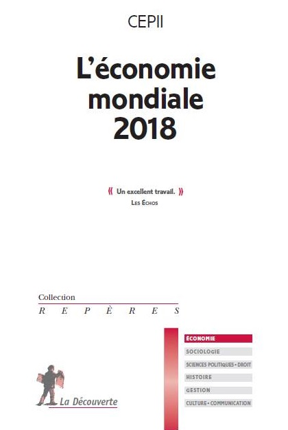 """couverture du livre """"L'économie mondiale 2018"""""""