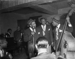 musiciens de jazz dans les années 1950