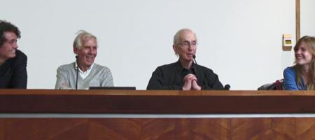 photo de la tribune lors de la rencontre avec becker