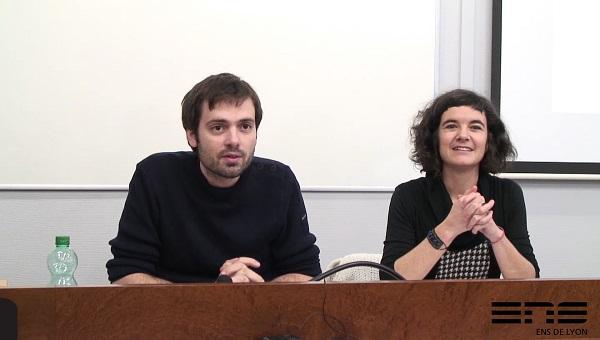 photo Julie Pagis et Wilfried Lignier conférence