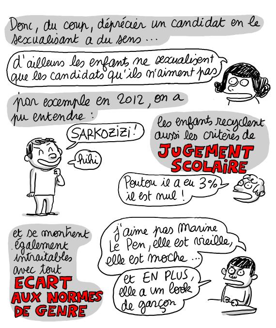 planche BD blog Lisa Mandel Prézizidentielle