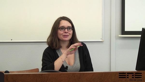 photo de Cécile Thomé séminaire re/lire les sciences sociales