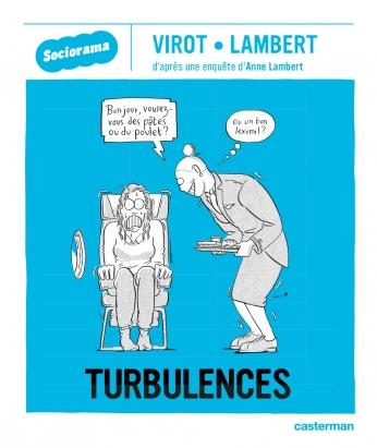 couverture de la bande dessinée Turbulences